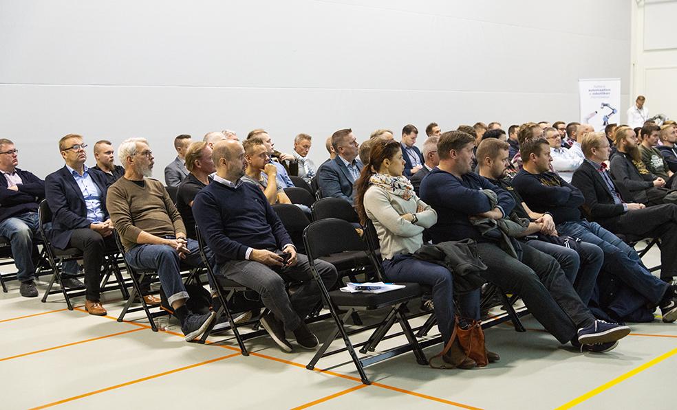 Vuoden 2018 NEXT-seminaari oli suosittu ja se keräsi yhteen runsaan yleisön pk-yritysten ja kehittämisorganisaatioiden edustajia.