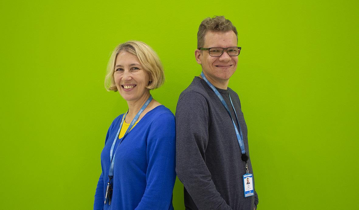 Anu Holm ja Juho Salli.