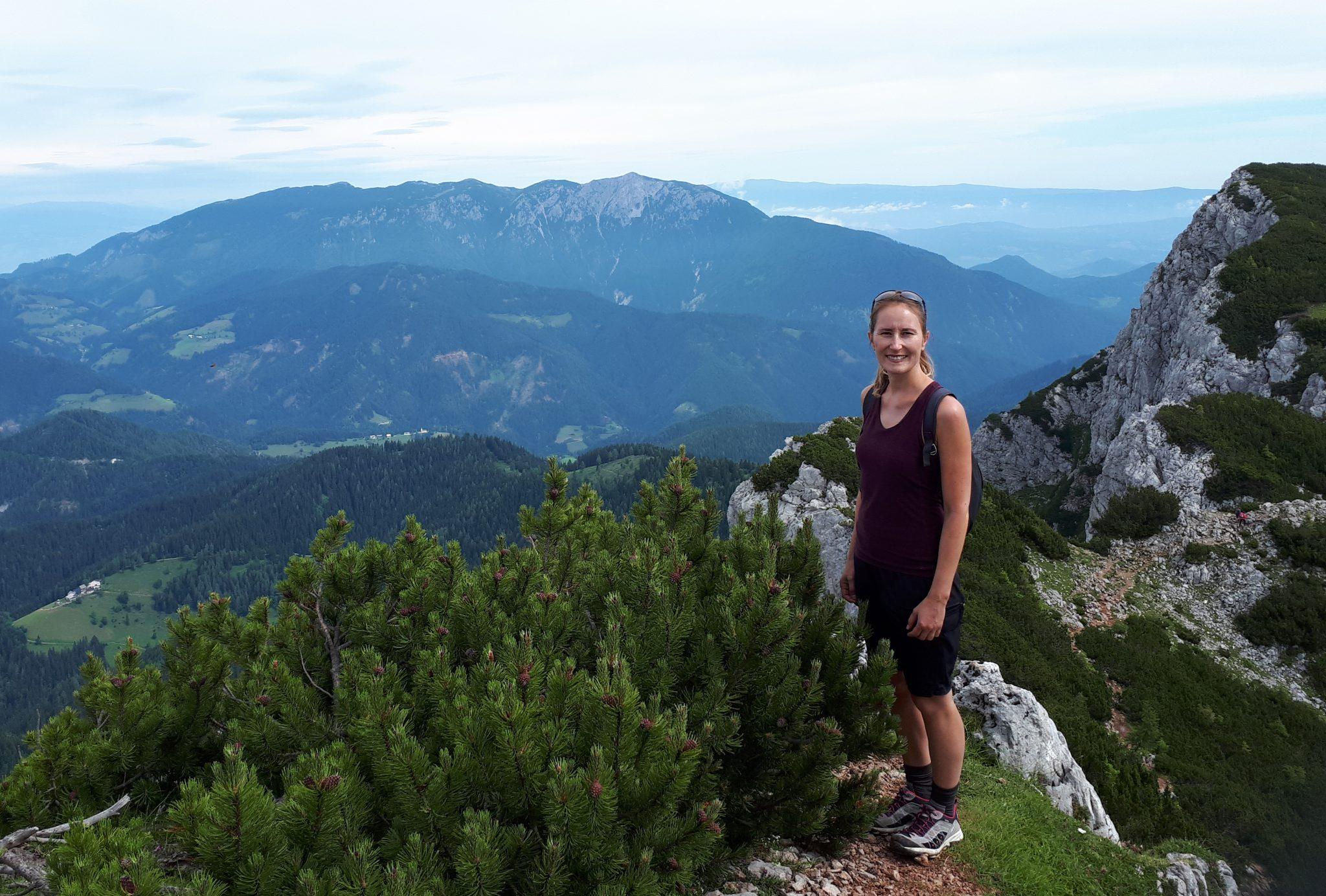 Project reseacher Anja Poberznik loves travelling.